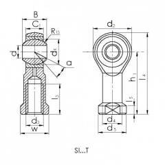 Bearings of sliding