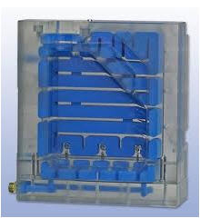 Compression molds for production of a product from
