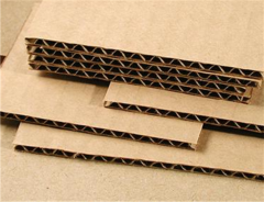 Corrugated fibreboard three-layered TK-20