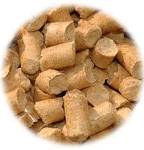 Pellets from straw