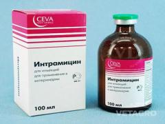 Антибиотик Интрамицин 100мл