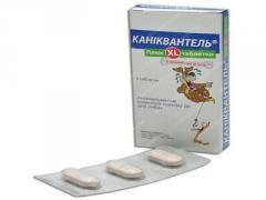 Препарат Каниквантель XL №3 таб (на 20кг) (Haupt Pharma)