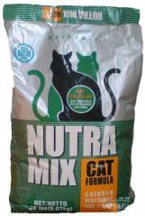 Корм для кошек Нутра Микс Хербол (зеленый) 9,07кг