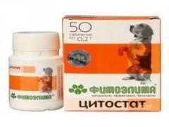 Средство Фитоэлита цитостати для собак №50 таб