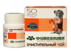 Средство Фитоэлита Очищающий чай для собак №50 таб