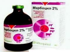Антибиотик Марбоцил 2% 100мл