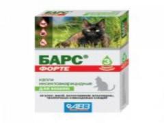 Капли Барс Форте для котов №3 (АВЗ)