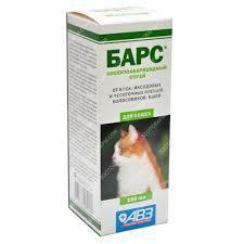 Спрей Барс инсект. кот. 100мл №18 (АВЗ)