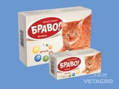 Витамины Браво для кошек таб. №60