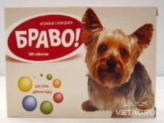 Витамины Браво для собак мелких пород таб. №300