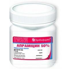 Антибиотик Апрамицина сульфат 50% 10г