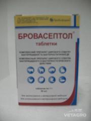 Антибиотик Бровасептол таб. №30