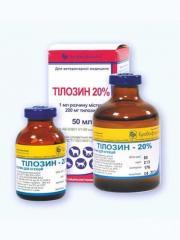 Антибиотик Тилозин 20% 20мл