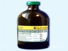 Препарат Бровалевамизол 8% 100мл