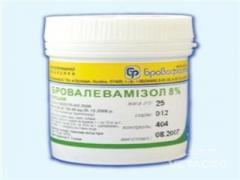 Препарат Бровалевамизол 8% 25г