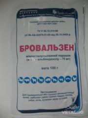 Препарат Бровальзену порошок 100г