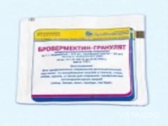 Препарат Бровермектин- гранулят 10г