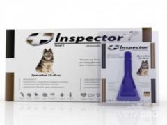 Капли Инспектор для собак 25-40кг №4