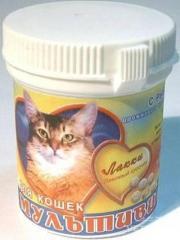 Мультивитамины с рыбой д / кот. 90 табл.