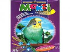 Корм Макси Супер рацион для волнистых попугаев 550г №16