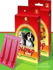 Капли Барьер супер для щенков и котят №3