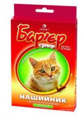 Ошейник Барьер п/паразитарный для котов №36