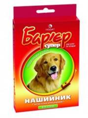 Ошейник Барьер п/паразитарный для собак цветной №36