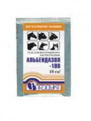 Препарат Альбендазол- 100 гель 10 мл.