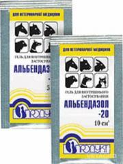 Препарат Альбендазол- 20 гель 10 мл