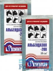 Препарат Альбендазол- 20 гель 5 мл