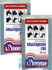 Препарат Альбендазол- 200 гель 10мл №50