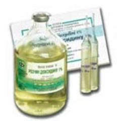 Раствор диоксидина 1% 250мл