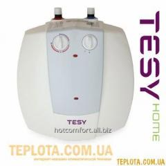 Wall mounted water heaters