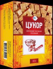 Сахар тростниковый коричневый прессованный