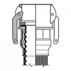 Фитинг Camlock C  для шланга Corroflon