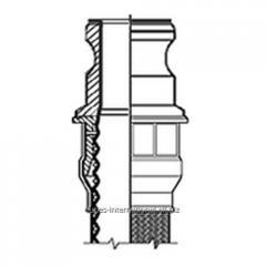 Фитинг Camlock A  для шланга Corroflon