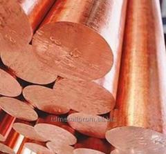 Circle (bar) copper Sq.m f50mm