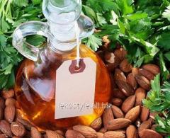 The sweet almonds oil refined