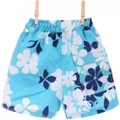 Оригинальные шорты голубого цвета