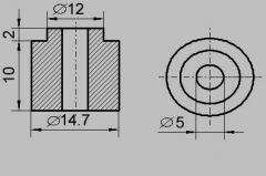 Insulator sleeve TEN-14 / 5.5 (ICTs)