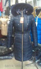Женское зимнее пальто,  модель ПМ