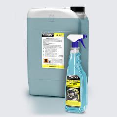 Antistatic polish for skin and Mixon M-102 plastic
