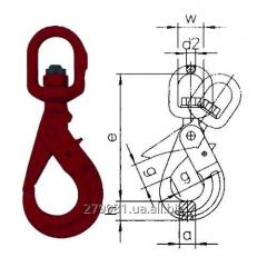 The shackle self-locked SWH hooks