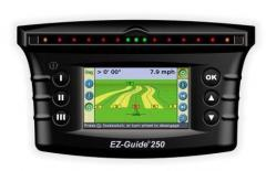 Parallel driving system EZ-Guide ® 250 (used on