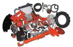 Spare parts to the soil-cultivating equipment