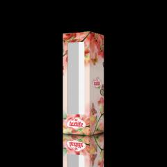 Упаковка с окном из картона для полотенец Орхидея ТК-09001