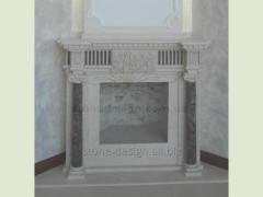 Classic's fireplace