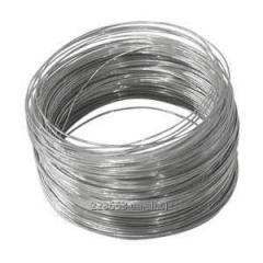 Wire galvanized in accordance with GOST 3282-74