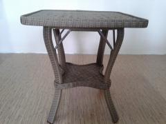 Coffee table rattan 60 * 60