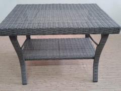 Coffee table rattan 75gk